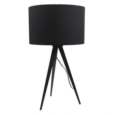 Lampa stołowa TRIPOD, czarna
