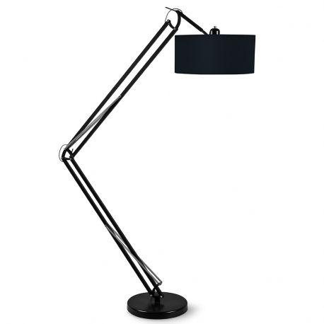 Lampa podłogowa MILANO czarna podstawa