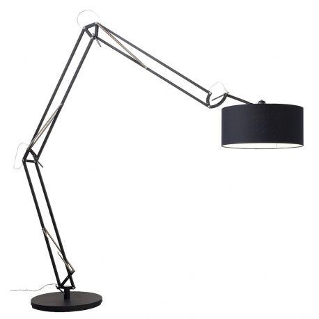 Lampa podłogowa MILANO XL czarna podstawa - It's about RoMi