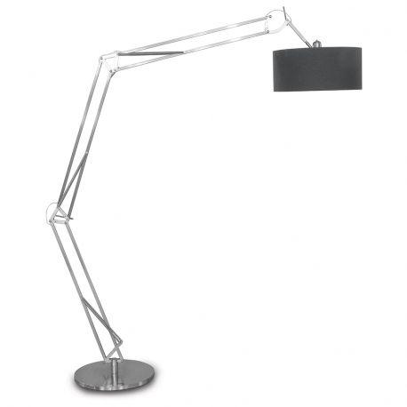Lampa podłogowa MILANO XL niklowana podstawa - It's about RoMi