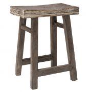 Stołek drewniany rustykalny