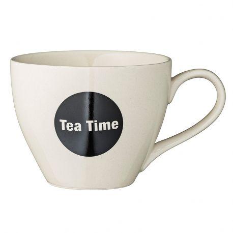 Kubek ceramiczny TEA TIME z serii CATHRINE - Bloomingville