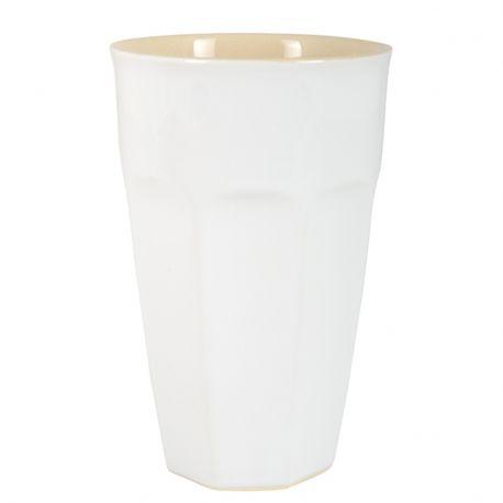 Kubek ceramiczny MYNTE duży, biały
