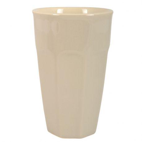 Kubek ceramiczny MYNTE duży, latte - Ib Laursen