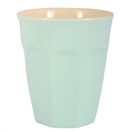 Kubek ceramiczny MYNTE mały, miętowy