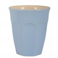 Kubek ceramiczny MYNTE mały, niebieski