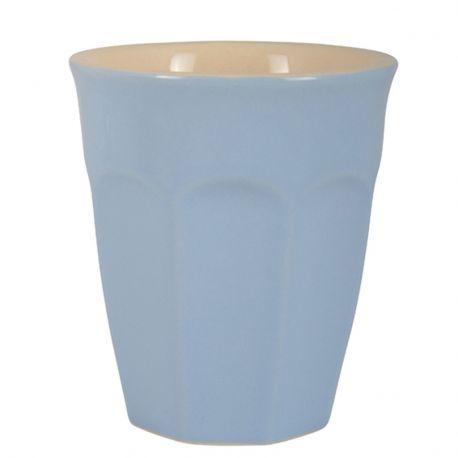 Kubek ceramiczny MYNTE mały, niebieski - Ib Laursen