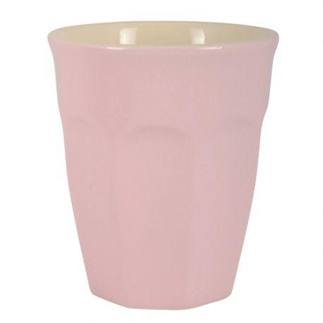 Kubek ceramiczny MYNTE mały, różowy - Ib Laursen