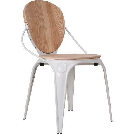 Krzesło LOUIX, białe - Zuiver