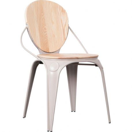 Krzesło LOUIX, szare - Zuiver