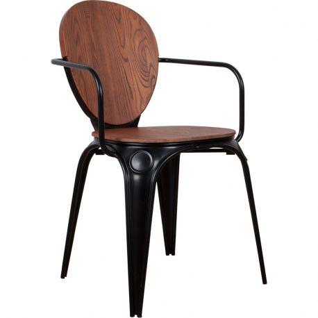 Fotel LOUIX, czarny - Zuiver