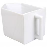 Szufladka porcelanowa, biała