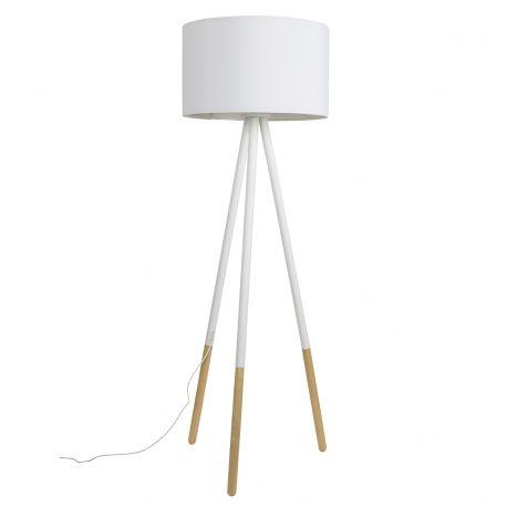 Lampa podłogowa HIGHLAND, biała