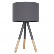 Lampa stołowa HIGHLAND, szara