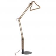 Lampa podłogowa LED IT BE, naturalna