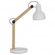 Lampa stołowa STUDY, biała