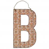 Litera metalowa B