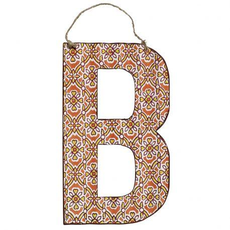 Litera metalowa B - Nordal