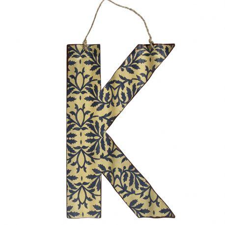 Litera metalowa K