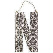 Litera metalowa N
