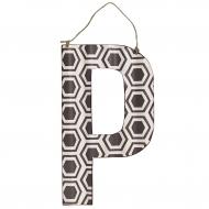 Litera metalowa P