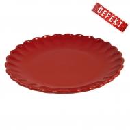Talerzyk okrągły MYNTE, czerwony - DEFEKT 1