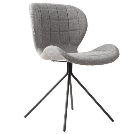 Krzesło OMG,  szare