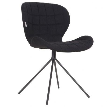 Krzesło OMG, czarne - Zuiver