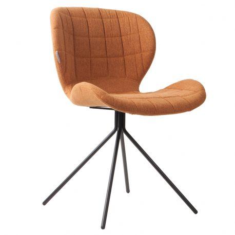 Krzesło OMG, karmelowe