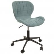 Krzesło biurowe OMG, niebieskie