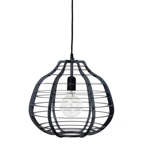 Lampa LAB XL, czarna - HK living