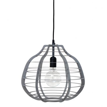 Lampa LAB XL, szara - HK living