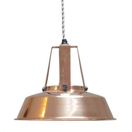 Lampa WORKSHOP M-29.5 cm, miedziana