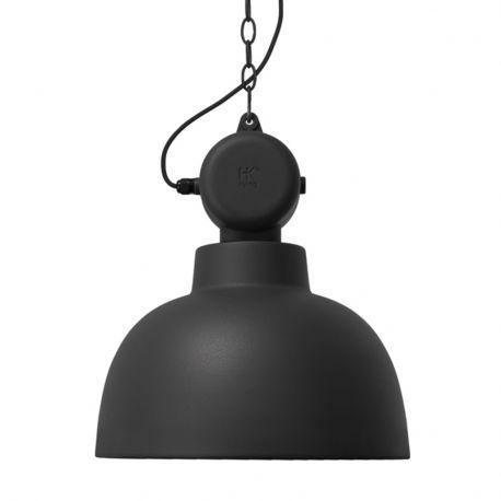 Lampa FACTORY M, czarna matowa - HK living