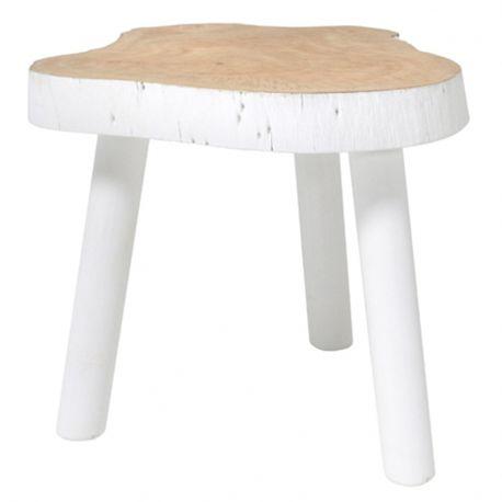 Stołek, stolik w kształcie pnia drewna - HK living