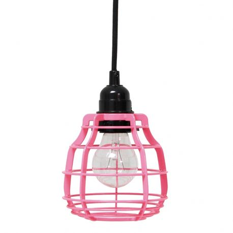 Lampa LAB, różowa - HK living