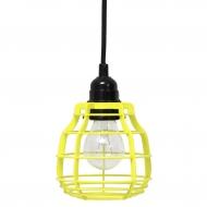 Lampa LAB, żółta
