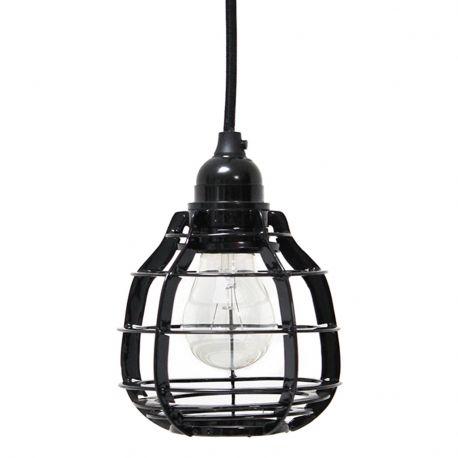 Lampa LAB, czarna