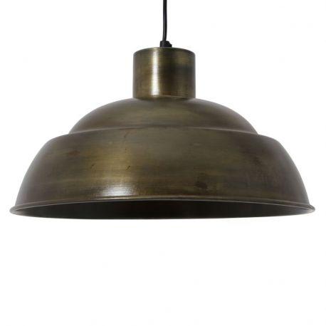 Lampa wisząca TAMARA, złoto antyczne