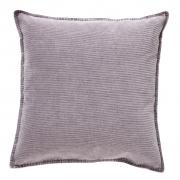 Poduszka sztruksowa, fioletowa