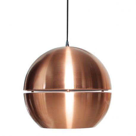 Lampa wisząca RETRO '70, miedziana R50 - Zuiver