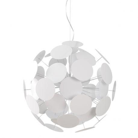 Lampa wisząca PLENTY WORK, biała - Zuiver