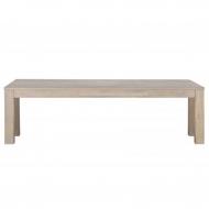 Ławka, stolik LARGO FUME 160 x 30 cm
