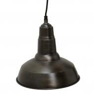 Lampa wisząca FACTORY mała, czarna