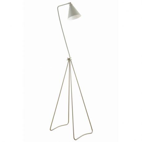 Lampa podłogowa GAME szaro-biała