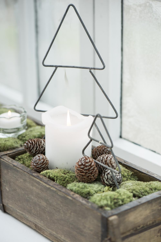 Dekoracje świąteczne w stylu skandynawskim 2018