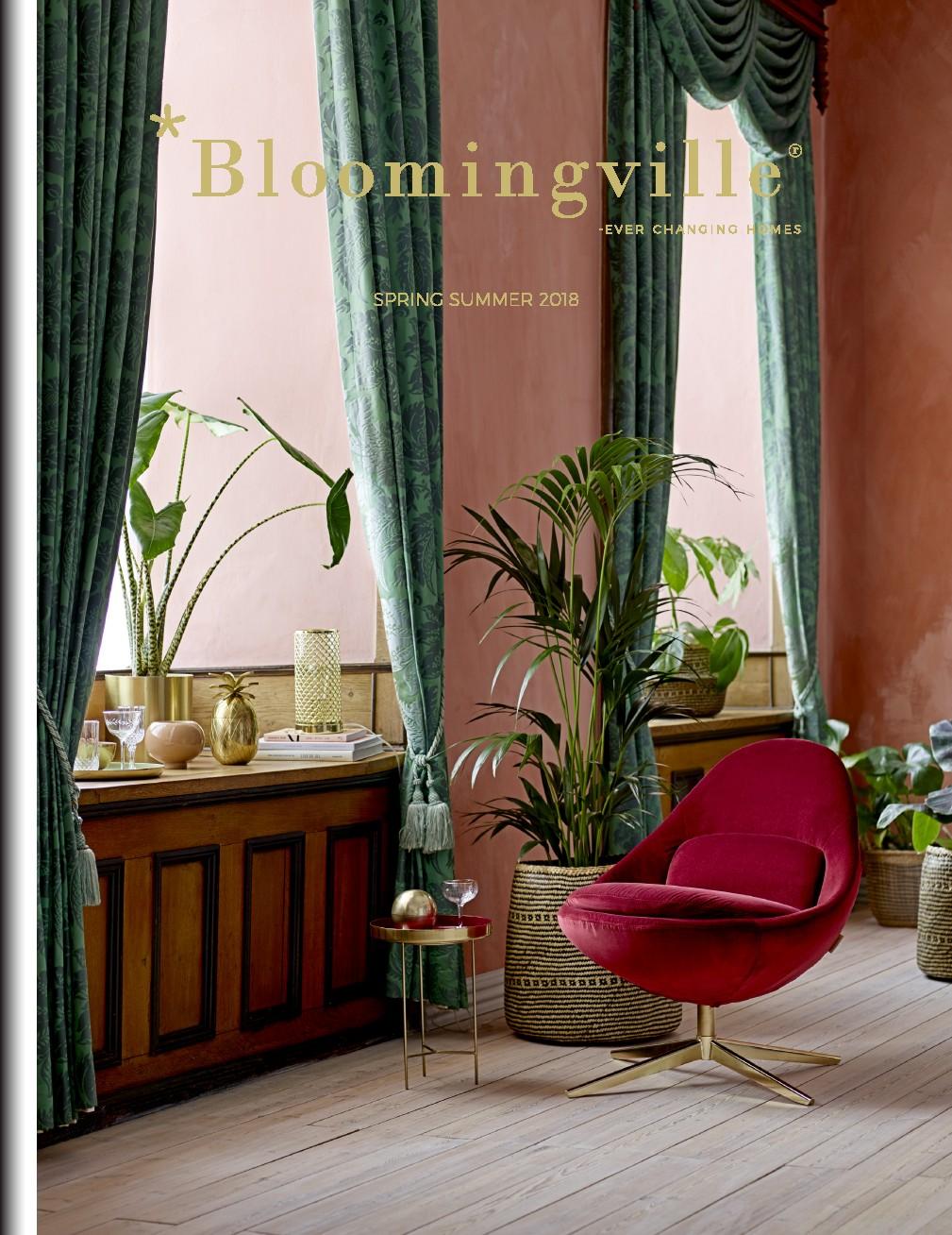 okładka - katalog blomingville wiosna lato 2018