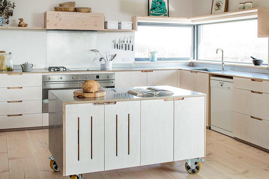 islandzka kuchnia w stylu skandynawii - wyspa na kołach