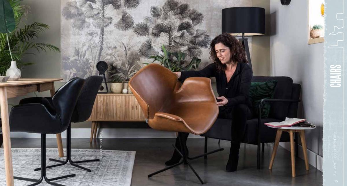 krzesła zuiver 2018 - nowa kolekcja