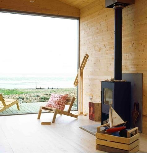 Piecyk - drewniany podest - taras w stylu skandynawskim